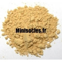 Pigments figurine MINISOCLES Ocre Jaune Clair *