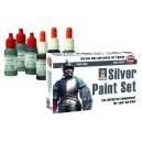 Kit de peinture Metal Argent