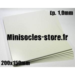 Carte plastique 200x150x1.0
