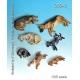 Set de chiens (x7) Echelle 54mm