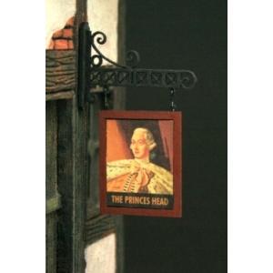 Photo découpe Papier Enseigne Pub Auberge 1:35 (N°2)