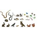 Set de 38 animaux échelle 28-32mm
