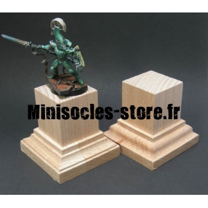 Socle standard brut 30mm