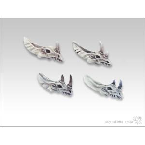 Crânes de Lézards / Dinosaures 28mm