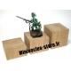 Socle chêne plat - 40x30mm