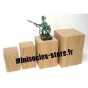 Socle Chêne haut - 50 x 70mm