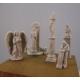 Set de statues et piédestaux 54mm