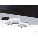 Socles aimantés carrés 20mm (x150)