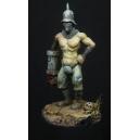 """Krog le Mutant peint par Roman """"Jarhead"""" LAPPAT, photo publiée avec l'accord de son auteur"""