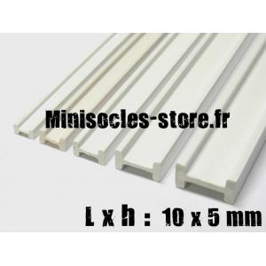 Tige pour poutre métallique en I 10x5mm