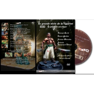 "DVD : La grande série de la Figurine ""La peinture acrylique"" (vol.1)"