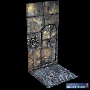 Décor Porte de Donjon 54mm
