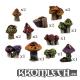 Champignons fantastiques (x16)