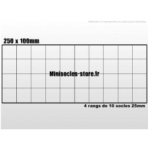 Plateau de mouvement 250x100mm