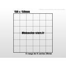 Plateau de mouvement 150x150mm