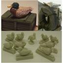 Set d'oiseaux aquatiques / marins (x10) Echelle 54-75mm
