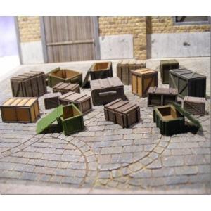 Caisses ouvertes et fermées 28-54mm (x20)