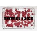 """Feuilles d'Erable """"MODEL SCENE"""" rouges 1:32-1:35"""
