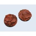 Usine en ruines 60 mm (x1)
