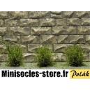 Arbustes 15 mm Vert Bouleau feuilles fines MINISOCLES
