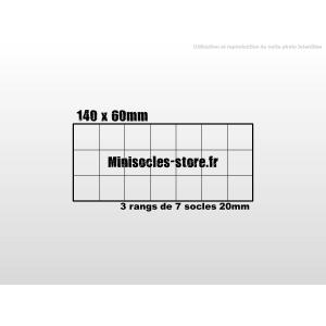 Plateau de mouvement 140x60mm