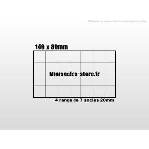 Plateau de mouvement 140x80mm