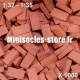 Briques 1/32-35 (x1000) Rouge Foncé