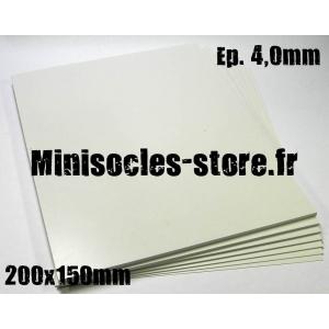 Carte plastique 200x150x4.0