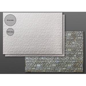 Carte plastique texturée Pavés 3