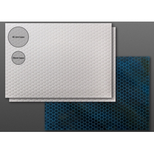 Carte plastique texturée Futuriste