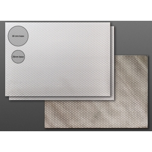 Carte plastique texturée Futuriste 2