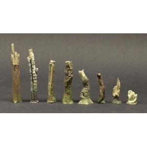 Petits arbres morts Echelle 28-54mm