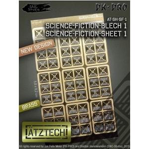 Photo découpe Plaques Science Fiction
