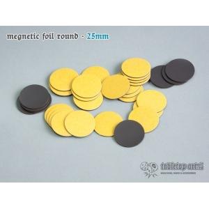 Socles aimantés ronds 25mm (x32)