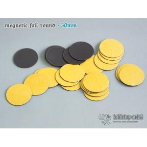 Socles aimantés ronds 30mm (x25)