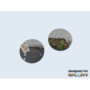 Socles urbains, ville futuriste INFINITY 55 mm (x1)