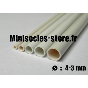 Tube plastique diamètre 4-3mm (30cm)
