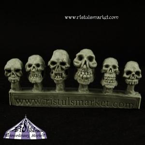 Crânes d'ogres 28mm