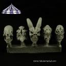 Crânes de Monstres (N°2) 28mm