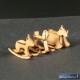 Chevaux à bascule en bois 1:35