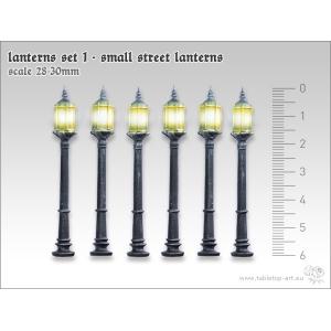 Lampadaires (x6) 28mm