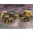 Set de Barils empilés