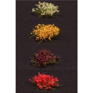 Set 40 Fleurs 4 couleurs