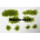 Set de 44 Touffes d'herbe Vert Clair