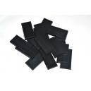 Socles rectangulaires 25x50mm pleins (x5)