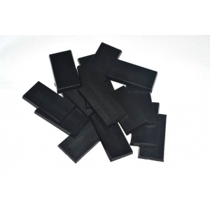 Socles rectangulaires 25x50mm pleins (x5)