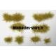 Set de 44 Touffes d'herbe Sèche MINISOCLES