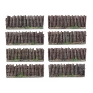 Palissades - Barrières en bois 28mm N°2