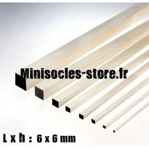 Tige Balsa carrée 6mm