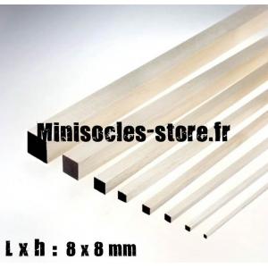 Tige Balsa carrée 8mm